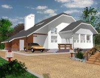 Фото: Проектирование домов из пеноблока